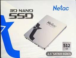 Título do anúncio: SSD 512GB Netac - Novo