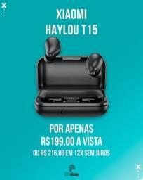 Título do anúncio: Fone Xiaomi Haylou T15 ( Ac. Cartão ate 12x )