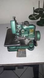 Título do anúncio: Máquina de costura Overloc com mesa