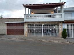 Casa para alugar com 4 dormitórios em Vila scarpelli, Santo andre cod:15973