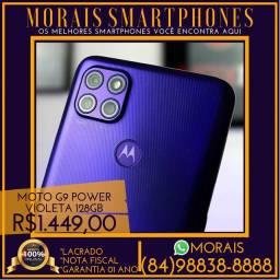 Moto G9 Power 128Gb (LACRADO COM NOTA COR VERDE OU VIOLETA)