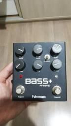 Pedal Baixo Fuhrmann Bass Plus Preamp BA01