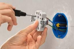 Eletricista p/ Construção Nova e reforma Instalação de toda parte elétrica ou troca