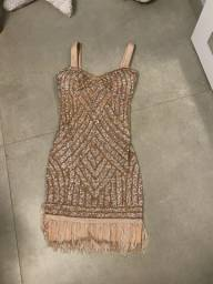 Vestido de brilhante