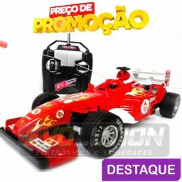 Título do anúncio: Carrinho De Corrida Com Controle Remoto F1 Deluxe Car