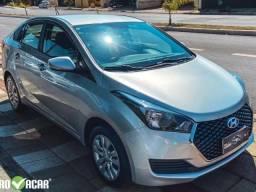 Hyundai hb20s 2019 1.6 flex, carro sedan automatico, baixo km prata