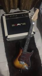 Título do anúncio: Guitarra Giannini g-100 usado em estado de novo