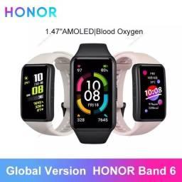 """Título do anúncio: Honor Band 6 Original 1,44"""" -Nova - Lacrada- Smartwatch"""