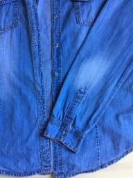 Desapega - Camiset jeans feminina