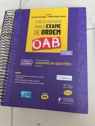 KIT de livros do exame da ordem OAB