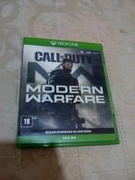 Cód modern warfare Xbox one