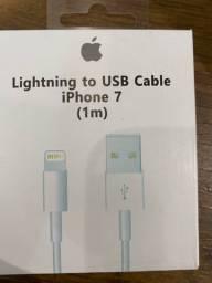 Cabo Para iPhone modelo Apple Lightning 1 Metro Compatível Modelos 5 6 7 8 Plus S X Xr Xs