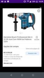 Título do anúncio: Martelete rompedor Bosch 950W