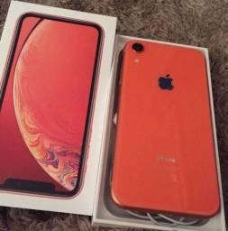 Título do anúncio: Iphone XR 64GB Coral