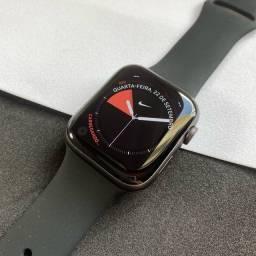 Título do anúncio: Apple Watch Series 4 NIKE+ 44mm Space Gray (GPS) - MUITO NOVO!