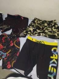 Título do anúncio: Shorts e camisas
