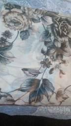 Linda cortina floral de 4 metros!!!