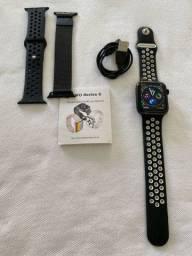 Relógio SmartWatch 44mm + 2 Pulseiras de Brinde