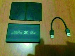 HD externo 1 Terabyte USB 3.0 serve para Play Station R$ 250,00