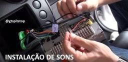 Instalação de Som, Multimidia, Auto Falantes e Modulos em Geral
