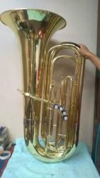 Tuba 4/4 weril master j951 em si bemol seminova