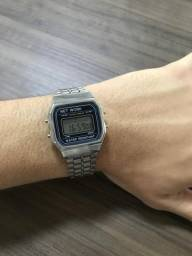 Relógio net work estilo casio
