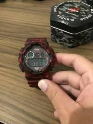 d066510c4e9 Relógio G-Shock Original Vermelho Camuflado - Menos de um mês de uso