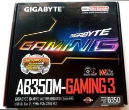 Placa Mae Gigabyte AB350M AMD