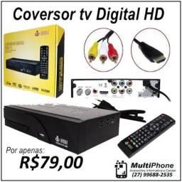 Conversor Tv Digital Multimídia Com Gravador HD
