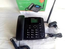 Telefone Rural- Celular Fixo Gsm Intelbras Novo