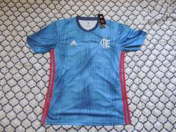 Camisa Flamengo Visitante Azul 18 19 c209ff19b4f2b