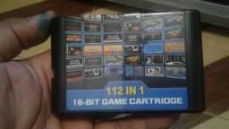 Usado, Cartucho 112 Jogos Em Mega Drive comprar usado  São Paulo