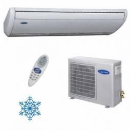 Câmaras frias, balcões de frios ou congelados, carga de gás refrigerante- freezers, gel