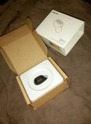Fone de ouvido QCY qm1 mono mini Invisível sem fio Bluetooth 5.0 com cancelamento de ruíd