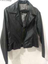 Jaqueta em couro puro comprar usado  Campo Grande