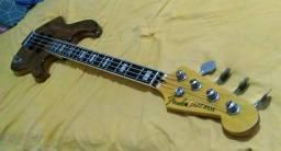 Baixo Luthier Jazz Bass captação e logo fender comprar usado  Salvador
