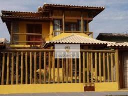 Casa estilo rústica, terreno inteiro, Jardim Bela Vista, Rio das Ostras.