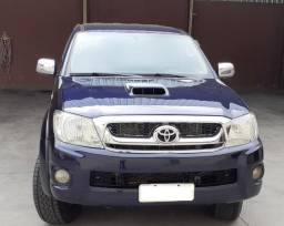 Toyota Hilux 3.0 D-4D 2009/2009 4x4 - Azul - 2009