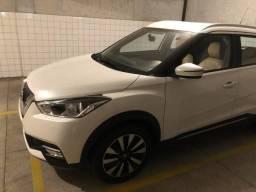 Nissan Kicks, SV, branco perolizado, completo, único dono - 2018