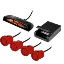 Sensores de Estacionamento!!! 04 Pontos/08 Pontos/Embutido/Luminosidade/Para Multimidias