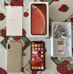 Iphone XR 128gb Coral c/ garantia até 03/2020