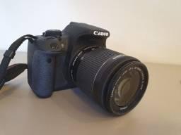 Câmera Canon T5i + Lente 18-55mm + Filtro Uv + Bolsa
