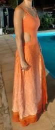 Vestido de festa madrinha - debutante