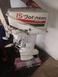 Motor Johnson 15 hp