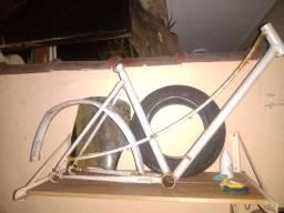Quadro de Bike Caloi Ceci