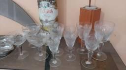Conjunto de taças de cristais