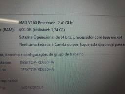Notebook Acer emachines tela de 15.6 Top