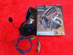Fone de Ouvido Headphone Gamer com Led HF-G650 - Exbom