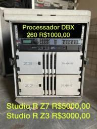 Processador Digital DBX 260 Amplificador Studio R Z7 Z3