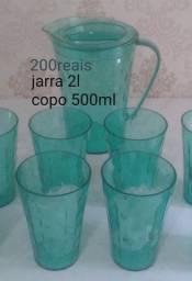 Jarra 2l 4 copos